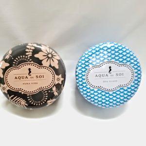 2 Tins Soy Candle Aqua de Soi by The Soi Company